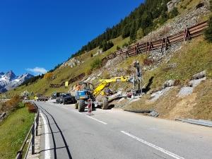 H11 Sustenstrasse, Steinschlagschutz Färnigen