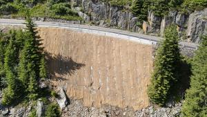 Göscheneralpstrasse Instandsetzung talseitige Stützmauer und Hangsicherung
