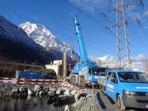 Verlegung der Hochspannungsleitungen Swissgrid und SBB